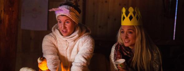 På Nes Alpinsenter med Prinsesse Juleglad & Snøfnugg